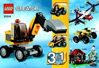 Lego Creator 31014 POWER BAGGER 31014 User Manual
