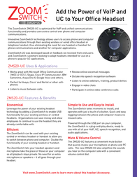 Zoom Switch ZMS20-UC Leaflet