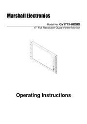 Marshall Electronics qv171x-hdsdi User Guide