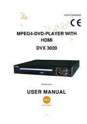 CMX DVX 3020 108474 Manuel D'Utilisation