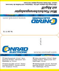Kunzer MINI-FLACHSICHERUNGSADAPTER C001-028-0022 Data Sheet