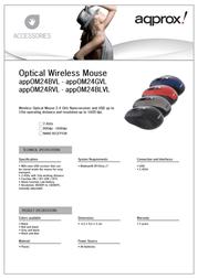 Approx APPOM24BLVL Leaflet