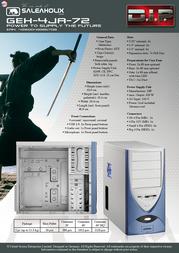 XCPD GEH-4JA72 PS-4JA-72 Data Sheet