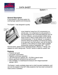 Active Thermal Management System 1 00-100-02 Data Sheet