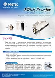 Pretec i-Disk Premier PRE16G Leaflet