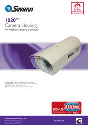 Swann 1020™ Camera Housing SW-C-HCH Leaflet