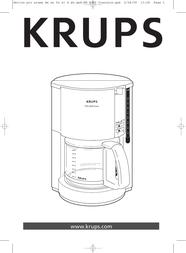 Krups ProAroma F 309 08 User Manual