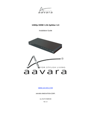 Aavara PS124 User Manual