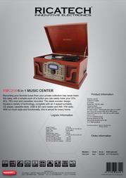 Ricatech RMC250 658005 Leaflet