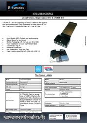 Vosstronics VTG-USB3H2-EPC2 Leaflet