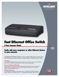 Intellinet 502023 Leaflet