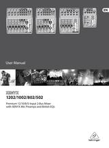 Behringer Xenyx 502 Инструкции Пользователя
