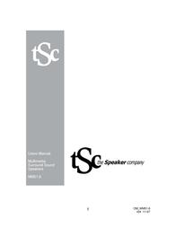 The Speaker Company MM51.6 User Manual