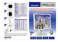Sharp LL-T1820H Leaflet