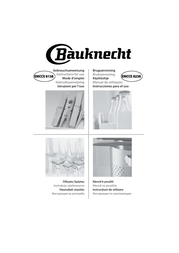 Bauknecht EMCCE 8138/PT User Manual