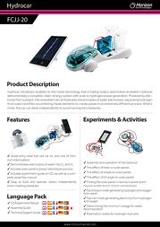 Horizon FCJJ-20 Leaflet