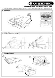Atdec Stand For Laptop V-T14 Leaflet