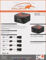 Atlona AT-AD2 Leaflet