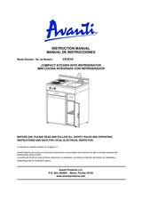 Avanti CK3016 Manual Do Utilizador