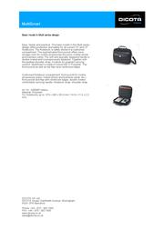 Dicota MultiSmart N8998P Leaflet