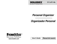 Rolodex rf-48a User Manual