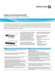 Alcatel OS6250-P24 OS6250-P24-EU User Manual