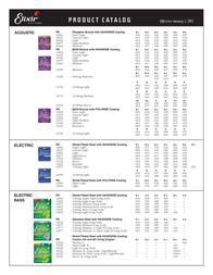 Elixir Strings 11002 Leaflet