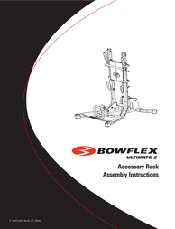 Bowflex Ultimate 2 Accessory Rack Owner's Manual