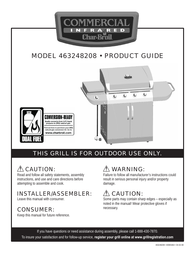 Char-Broil 463248208 User Manual