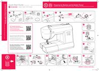 SINGER 6160 Quick Setup Guide