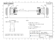 First Cable DB25 M/DB25 F 112-006 Leaflet
