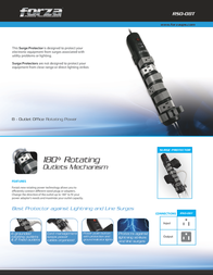 Forza Power Technologies RSO-08T Leaflet