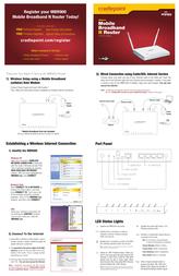 Cradlepoint MBR900 Leaflet