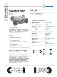 Samson S-direct plus SASDIRPLUS Leaflet