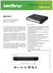 Intelbras SG 800C 4005064 Leaflet