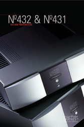 Mark Levinson Dual-Mono Power Amplifier 431 User Manual