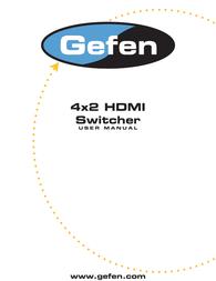 Gefen EXT-HDMI-442 User Manual