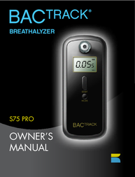 BACtrack s75 PrO User Manual