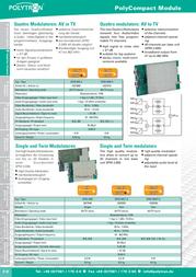 POLYTRON SPM-MM 5527940 Leaflet
