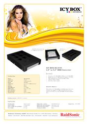 ICY BOX IB-2535StS 25355 전단