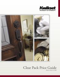 Kwikset Welding System 665 User Manual