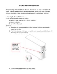Supermicro CSE742T 550B CSE-742T-550 B User Manual