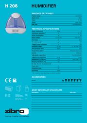Zibro H 208 H208 Product Datasheet