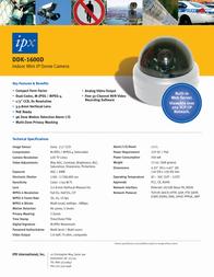 United Digital Technologies IPX-DDK-1600D Merkblatt