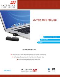 Interlink Ultra-Mini VP6152 Leaflet