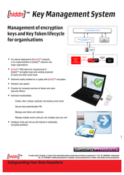 hiddn KMS PC 60 620 007 Leaflet