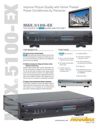 Panamax BEZ5100-EXS Leaflet