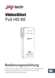 "JayTech Digital Camcorder,1920 x 1080 pix, 5 MPix, (3 ""), Black/silver 77007656 User Manual"