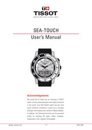 Tissot 145 User Manual
