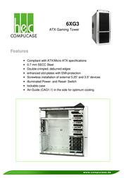 Compucase 6XG3 6XG3BS-EFT Leaflet